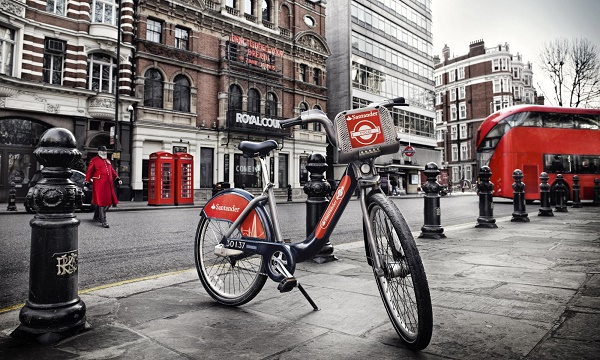 rent bike london